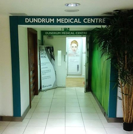 About us photo of the entrance to the Dundrum Medical Centre